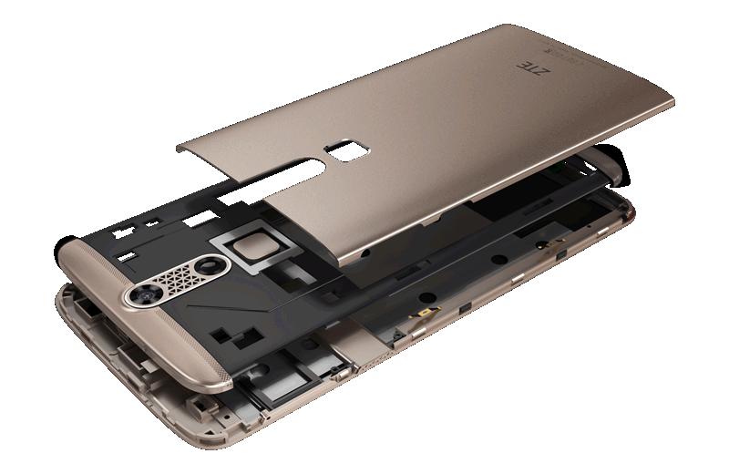 شركة زد تى إى-ZTE تطلق رسمياً هاتفها الذكى الجديد  Blade X Max