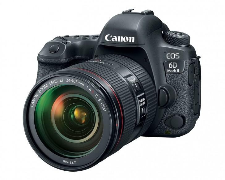شركة كانون تطلق كاميرا (EOS 6D Mark II) الجديدة