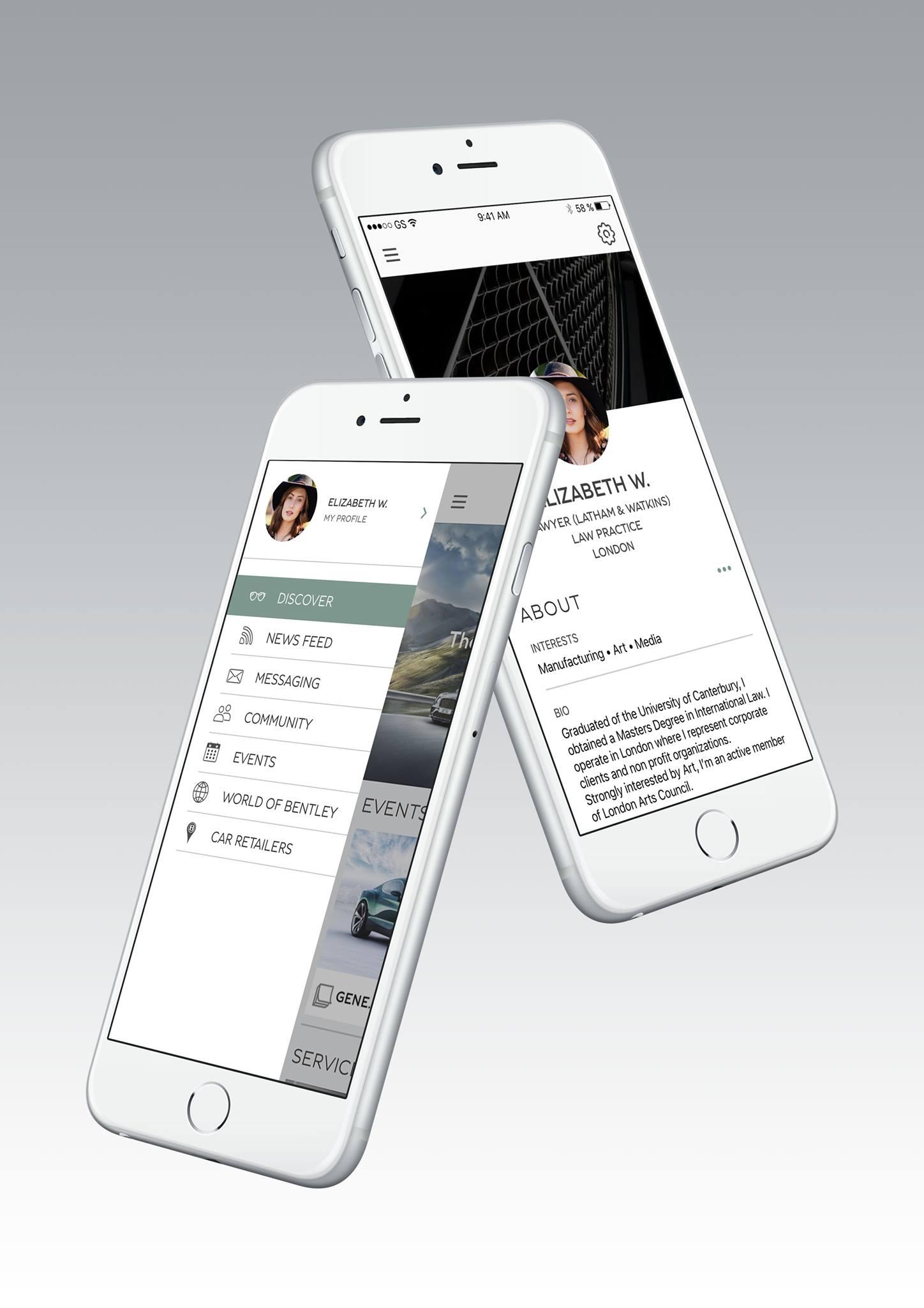 'Bentley Network' تطبيق فاخر للعملاء المتميزين في الشرق الأوسط