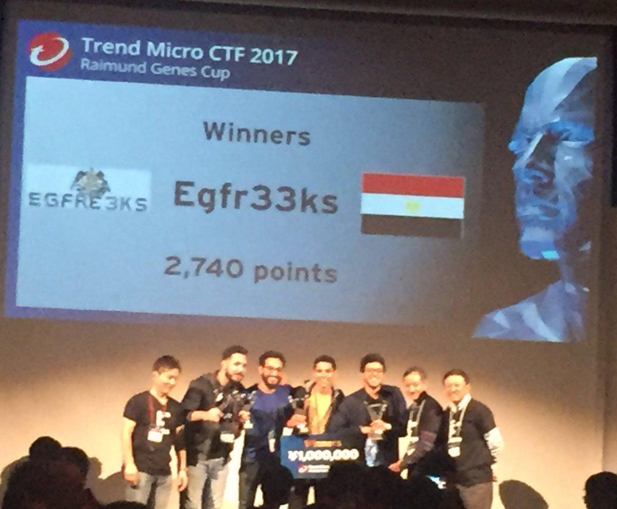 فريق مصري على قمة مسابقة أمن المعلومات باليابان.. وجائزة مليون ين