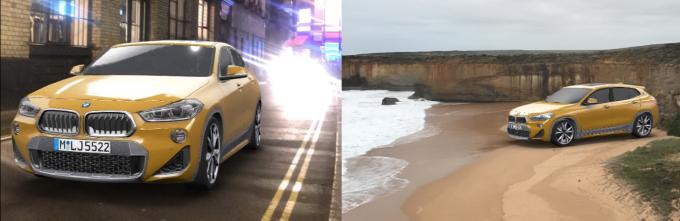 إعلانات الواقع المعزز من سناب شات و BMW